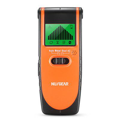 Nusgear TH115 3 in 1 Stud Finder Wood Metal Detector AC Live Wire Wall Scanner