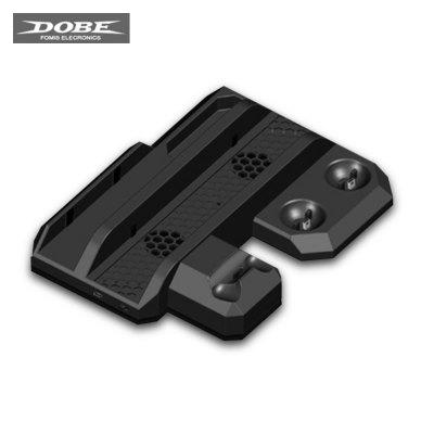 DOBE TP4 - 888 Cooling Stand Charging Dock Host Base Multi-function for VR Glasses / PS4 / Slim / PS4 Pro