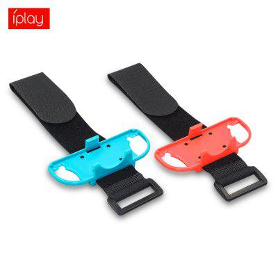 2PCS IPLAY Adjustable Wrist Bands Controller Hand Grip for Switch Joy-Con Just Dance