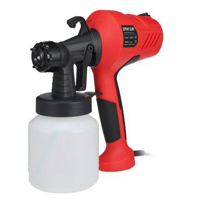 GT - 006 - 350 400W 800ml Container Electric Paint Sprayer Gun Three Nozzle Pattern