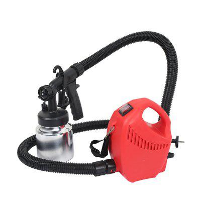 GT - 004A - 600 800ml Container Electric Paint Sprayer Gun Adjustable Spray Output