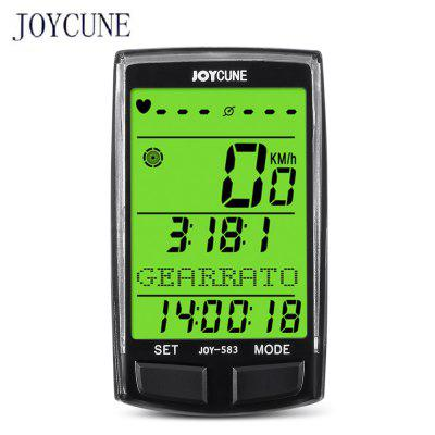 Joycune Bicycle Multi-function Bluetooth Computer Set with LCD Display