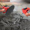 2 in 1 Electric Cement Mortar Trowel Paint Coating Mixer - RED