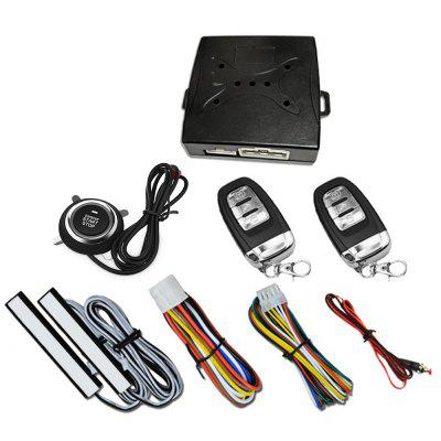 A6 - A Push Button Start System Car Security Alarm Engine Starter