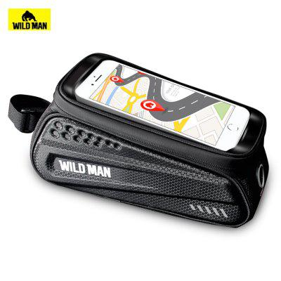 WILD MAN  ES3 Electric Scooters Bicycles Front Bag with TPU Sensitive Touch Screen