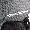 Moon Ski Helmet Single Board Double Snowboard Protective Gear Equipment - CARBON GRAY