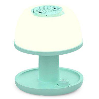 USB Portable Night Light Color Projection with ABS + PP Materials