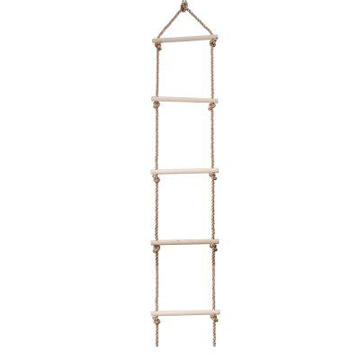 Kids Climbing Rope Hang Ladder Swing Five Rungs Sports Toys Exercise Equipment for Children