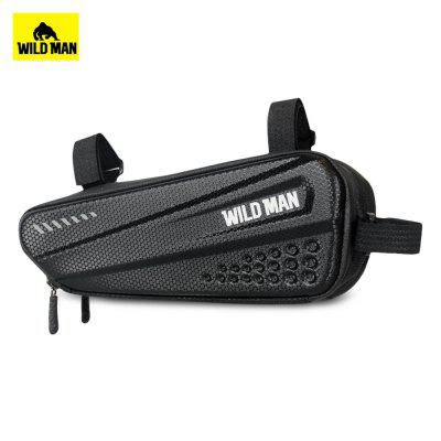 WILD MAN Bicycle Bag Hard Shell Triangle Mountain Bike Front Beam Riding Equipment