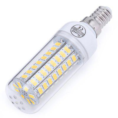 AC 220V E14 6W 550 - 600LM SMD 5730 LED Corn Bulb Light with 69 LEDs