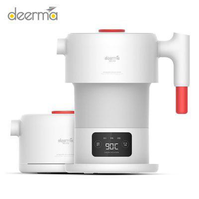 Deerma Foldable Electric Kettle with Touch-screen for Camping Travel