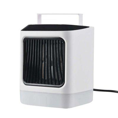 Desktop Electric Heater Fan with Colorful Mood Light