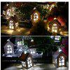 House Shaped USB LED String Light Room Decoration Lamp for Christmas New Year Wedding Party - WHITE