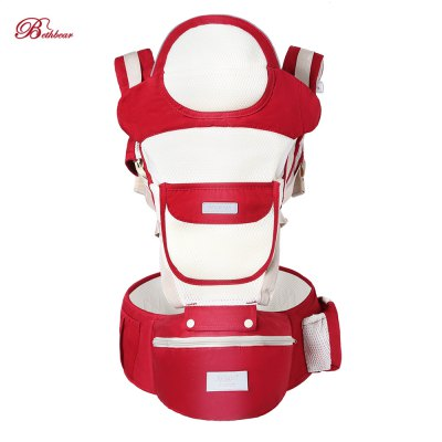 Bethbear Breathable Baby Carrier Mesh and Cotton Material