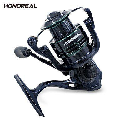 Honoreal Bluce Fishing Reel Full Metal Wire Cup 9 + 1 Bearing Spinning