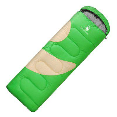 HUILINGYANG Single Stitched Envelope Cotton Sleeping Bag Camping Travelling
