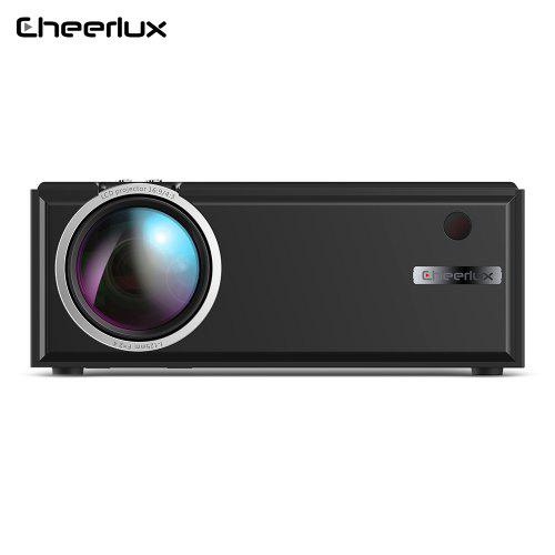 Cheerlux C8 LCDProjector1800 Lumen 1 - 3m Projection Distance 50 - 100 inch Image Size