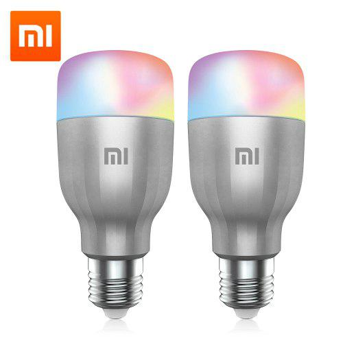 Xiaomi 2PCS LED Smart Bulbs White and Colorful Light Easy Installation