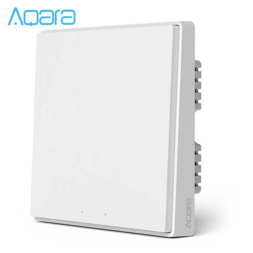 AQara D1 Wireless Smart Wall Switch 1-gang Neutral and Live Wire App...