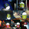 Enkeeo Camping Lantern with Mosquito Killer - YELLOW GREEN