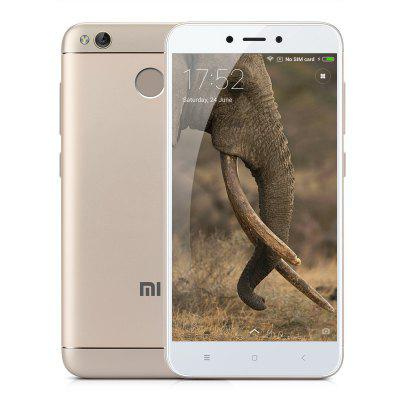 "Refurbished Redmi 4X (3+32GB) Gold EU 5""HD 4100mah Battery Snapdragon 435 Octa-Core Dual SIM Dual User Accounts Fingerprint IR Remote Control GPS Bluetooth WIFI 4G Mobile Phone"