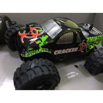 virhuck 1:32 scale mini remote control off-road car rc truck rc vehicle RC Car 2WD 1:32 Mini Scale Remote Control Electric Racing Car High Speed Vehicle with Rechargeable Battery - COLORFUL