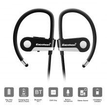 Gearbest Excelvan C6 Wireless Bluetooth 4.1 Sports Headset Earphone Headphone Bluetooth Earpiece Sport Running Stereo Earbuds With Microphone Hands-free Call / On-cord Control / English Prompt / Sweat Resista