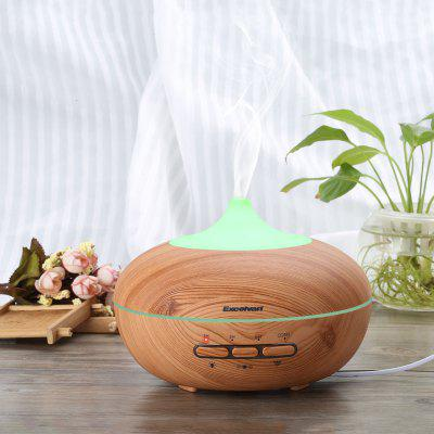 Excelvan Aroma Diffuser Ultrasonic Humidifier Air Mist Aromatherapy Purifier Light Woodgrain Smart-3 AU