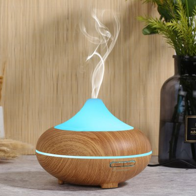 Excelvan Aroma Diffuser Ultrasonic Humidifier Air Mist Aromatherapy Purifier Light Woodgrain GX-20K AU