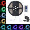 Lampwin 16.4ft LED Flexible Strip Lights 300 Units SMD 3528 LEDs With IR Remote Control  Power Supply DIY Decoration US - WHITE