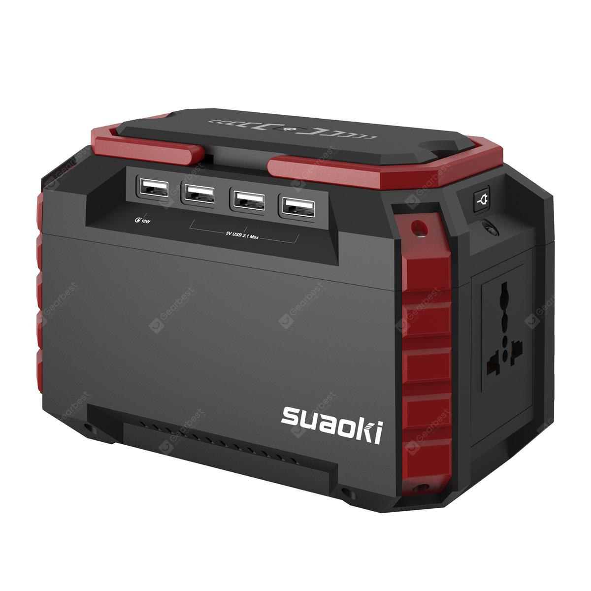 Suaoki S270 Power Source 150WH-EU - BLACK