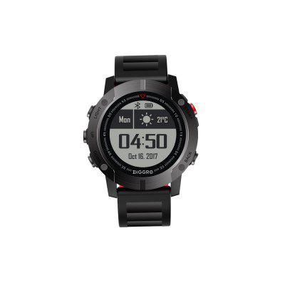 Diggro DI08 GPS Smart Watch Outdoor Fitness Tracker 30meter IP68 Waterproof Backlight Multiple Sport Modes Heart Rate Monitor for Android IOS