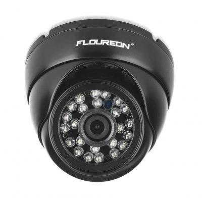 FLOUREON 1080P 2.0MP 3000TVL PAL Vandalproof CCTV DVR Aparat de securitate impermeabil AHD Dome DVR Camera Night Vision