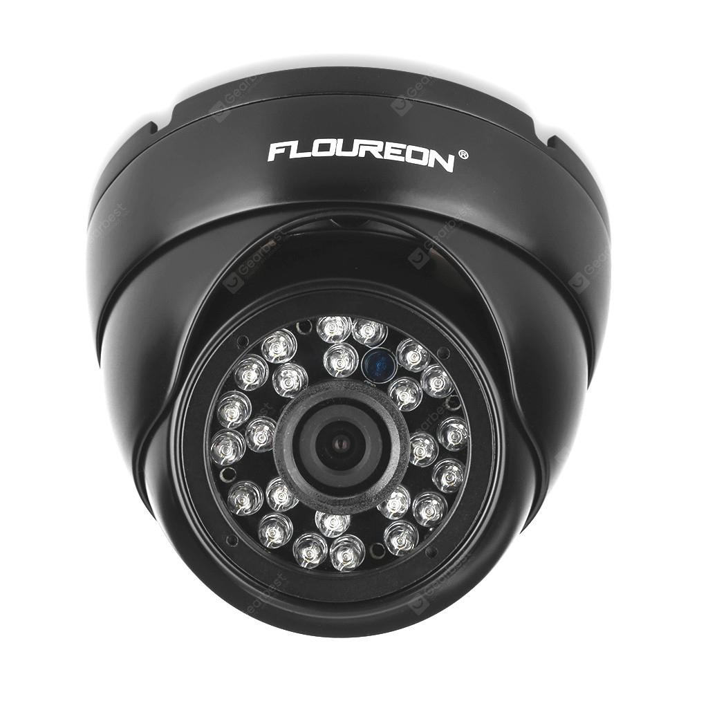 FLOUREON 1080P 2.0MP 3000TVL Vandalproof CCTV DVR Waterproof Security AHD Dome DVR Camera Night Vision