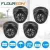 FLOUREON 1080P 2.0MP 3000TVL Vandalproof CCTV DVR Waterproof Security AHD Dome DVR Camera Night Vision - BLACK