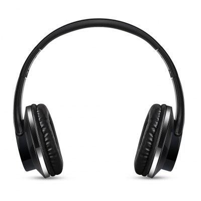 Excelvan Fodable Wireless Bluetooth Headphones 32G TF Card Player / FM Radio / Aux in Function For Phones (Black)
