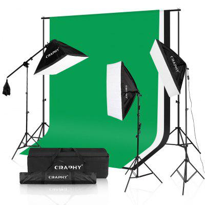 Craphy 2000W Photo Studio LED Continuous Lighting Kit