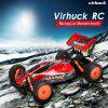 Virhuck  1:10 Scale Remote Control  Racing Car RC Beach Buggy Vehicle RC  Drift Car for kids - RED