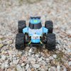 VIRHUCK 9112G 2.4G 1:18 scale remote control off-road vehicle car rc racing car Rock Crawler Extreme Radio Control Vehicle FAST RACE CRAWLER TRUCK - BLUE