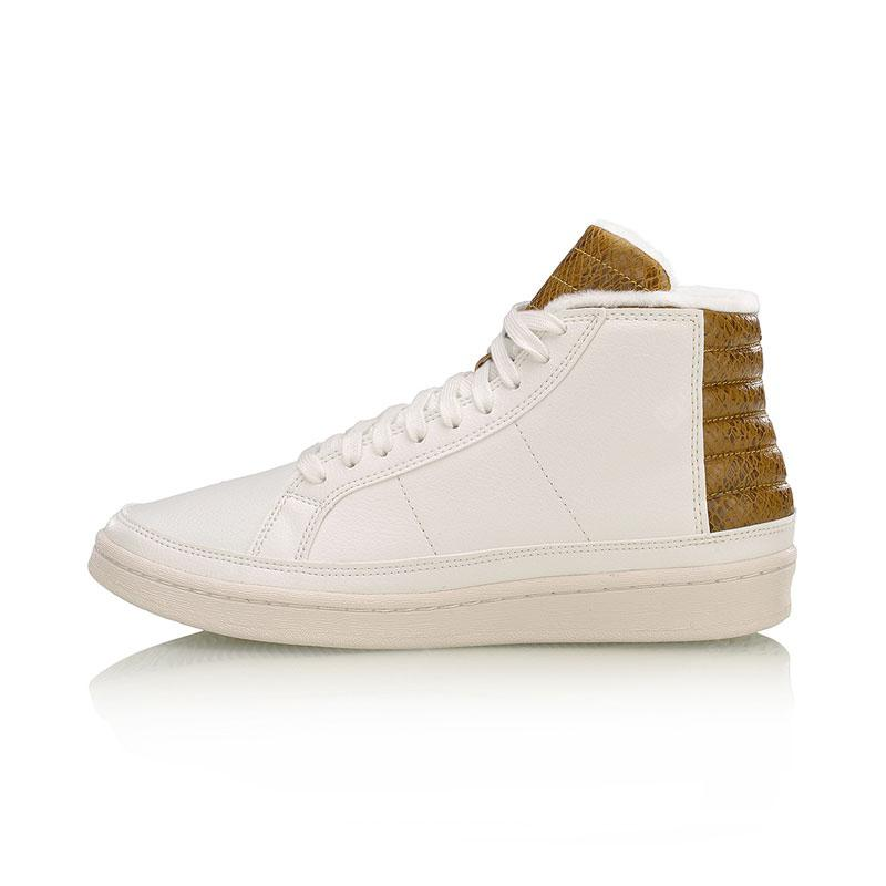 Li-Ning Men's Casual Basketball Shoe One Piece Kniting Cusion Sneaker AGBM001-1