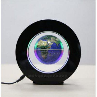 3.0 Inch Magnetic Levitation Floating Globe Map w/LED Light Home Decoration