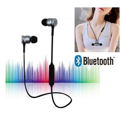 G3 Magnet Bluetooth Earphone Sports Wireless Headset Stereo Bass Earbuds with Microphone for Iphone Android Phone