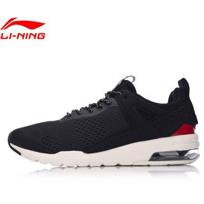 Li Ning Men Essential Pacer Air Cushion Running Shoes Breathable Sneakers Sports Shoes GLKM093-1