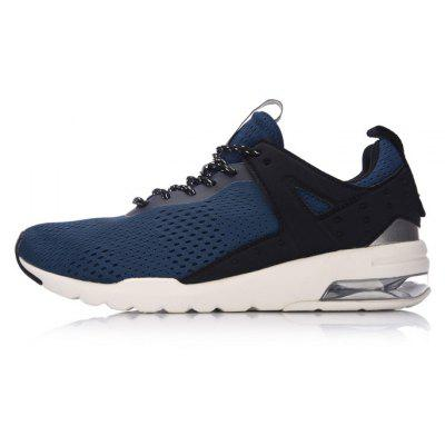 Li Ning Men Essential Pacer Air Cushion Running Shoes Breathable Sneakers Sports Shoes GLKM093-2