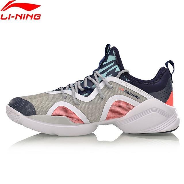 Li-Ning Women Amazing Dancer Training Shoes Breathable Light Weight Sneakers Shoes AFHM038-4