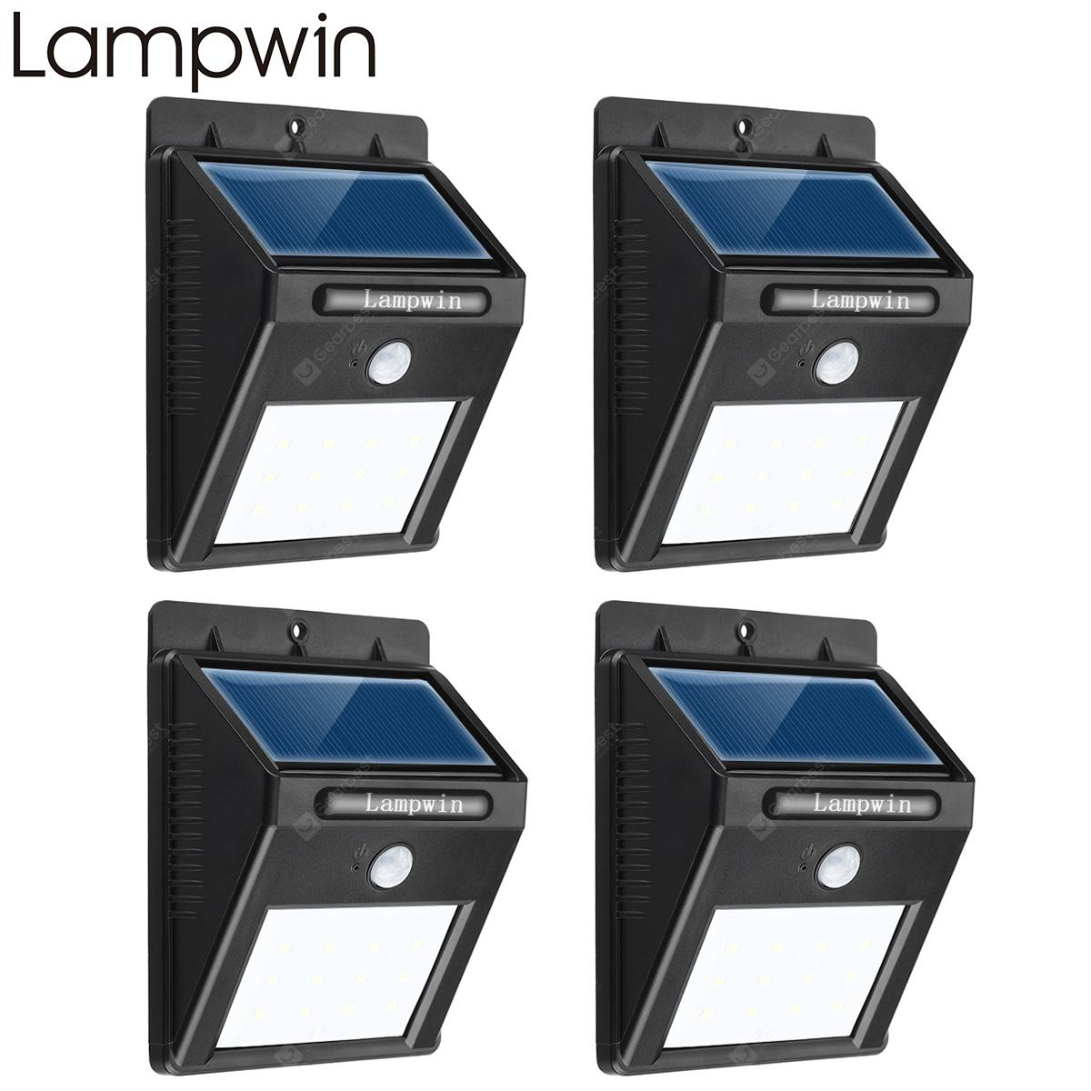 Lampwin waterproof outdoor motion activated security lighting 12 led lampwin waterproof outdoor motion activated security lighting 12 led bright solar powered light for patio aloadofball Gallery