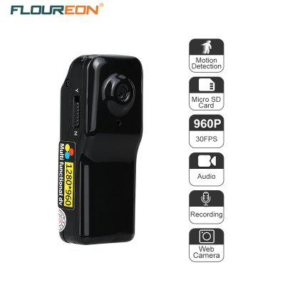 Mini DV FLOUREON 1.3 Mega Pixels HD DVR Sports Camcorder Video/Audio/Capture Motion Detection Recorder PC Web Camera