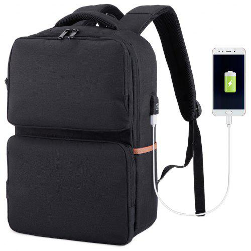 SLYPNOS Anti-Theft Slim Business Laptop Backpack with USB Charging Port and  Lock 72f48229f8f49