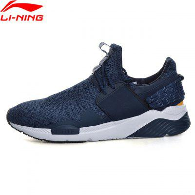 Li-Ning Men Shoes Sport Walking Shoes Fitness Li-Ning Cloud Sneakers Stability Li Ning Sneakers Sports Shoes GLKM107-2