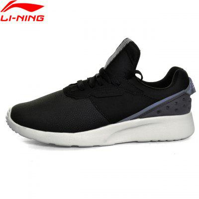 Li-Ning Men Shoes EVA Light Sport Walking Shoes Fitness Comfortable Sneakers Textile Li Ning Sneakers Sports Shoes GLKM103
